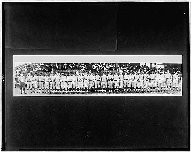 [Washington baseball team, season 1913]