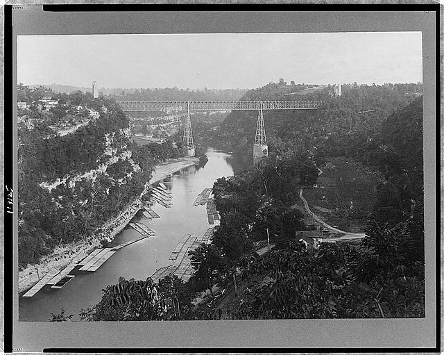 Kentucky River High Bridge, Cincinnati Southern R.R.