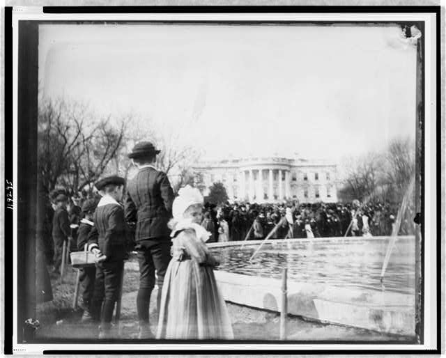 White House, 1889--Easter Monday