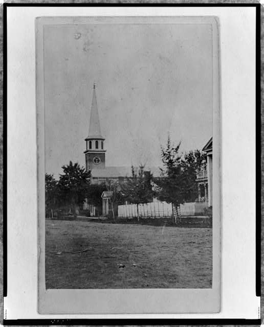 Church in Murfreesboro, Tenn., now U.S. hospital