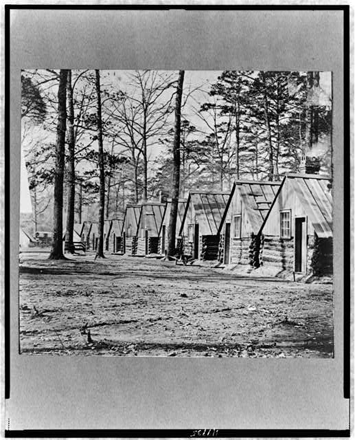 Gen. Butler's headquarters, Fraser's farm, north side of James River