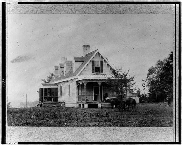 Haxall&#39;s House, used as hospital after battle of White Oak Swamp