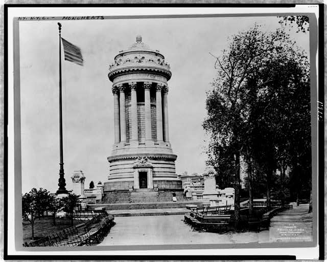 [The Soldiers' and Sailors' Monument, New York City]