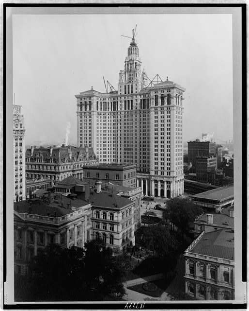 [New Municipal Building, New York City]