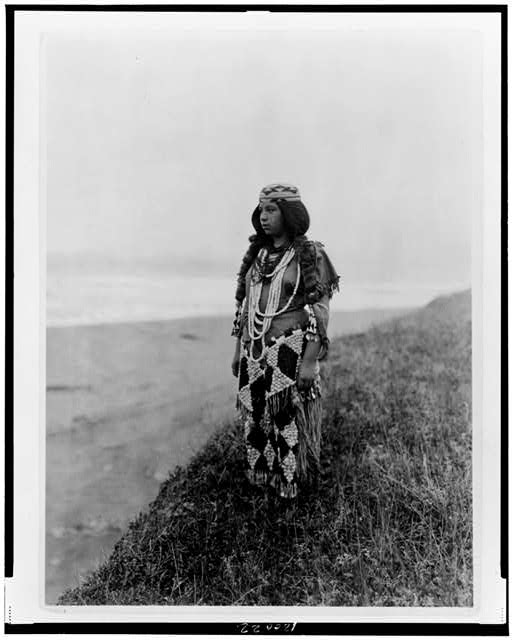 On the shores of the Pacific--Tolowa