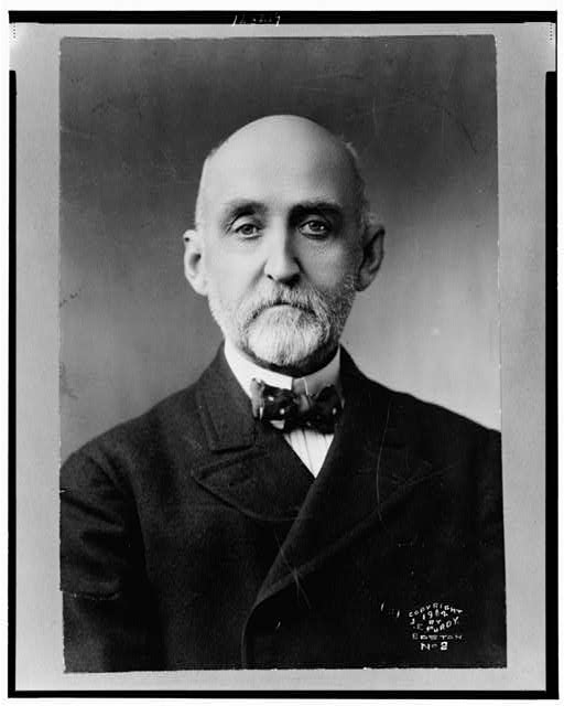 [Alfred Thayer Mahan, head-and-shoulders portrait, facing front]