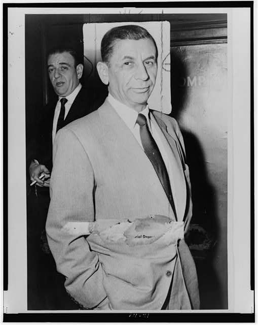 [Meyer Lansky, half-length portrait, facing front]