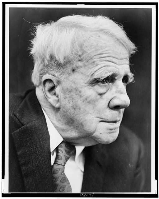 [Robert Frost, poet who is 85 years old today]
