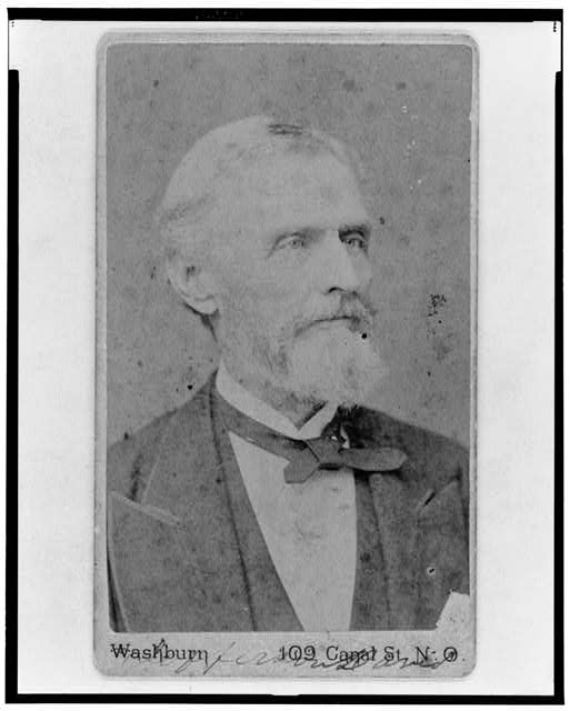 [Jefferson Davis, half-length portrait, facing right]