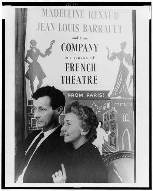 [Portrait of Jean-Louis Barrault, and Madeleine Renaud]