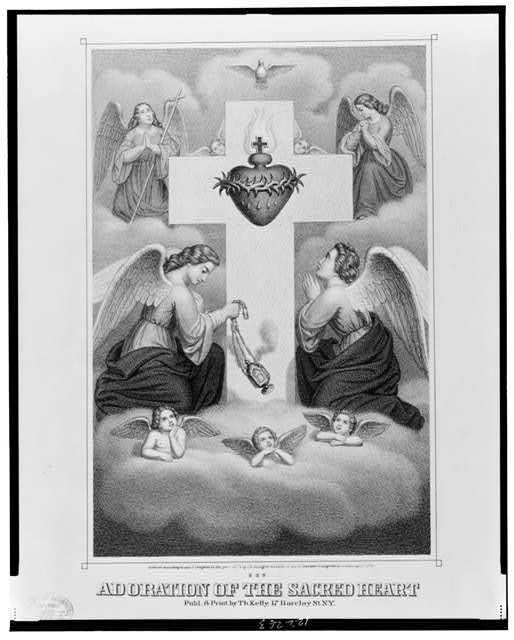Adoration of the sacred heart