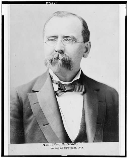Hon. Wm. R. Grace, Mayor of New York City
