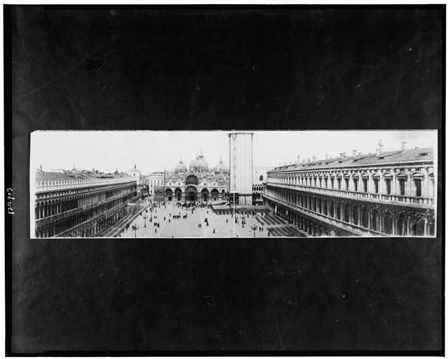 Panoramic view, Piazza St. Marco, Venice