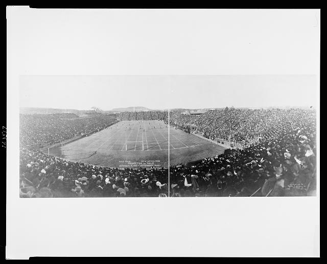 Yale Field, New Haven, Conn., Princeton vs. Yale, November 18, 1905, attendance 30,644