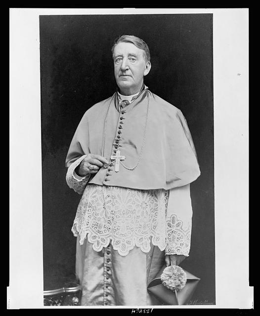 [Archbishop Edward Pendergast, three-quarter length portrait, standing, facing slightly left]