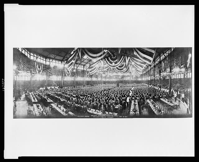 Ancient Accepted Scottish Rite Golden Jubilee Banquet, Coliseum, Ind'p'l's, May 19, 1915