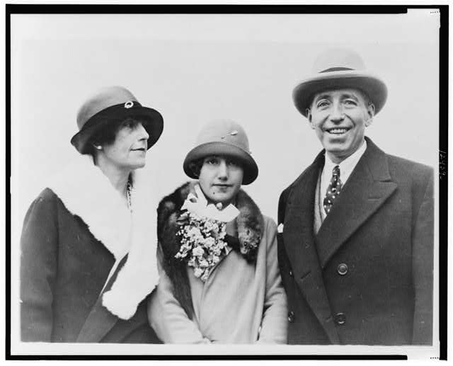 Pierre Cartier, jeweler, wife & daughter