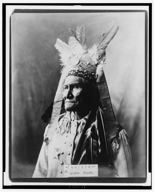 """Geronimo""--Apache Chief"