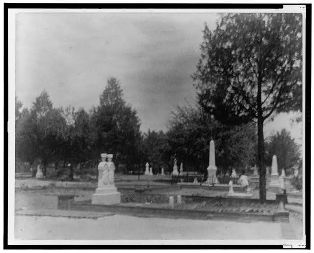 [Unidentified cemetery in Georgia]