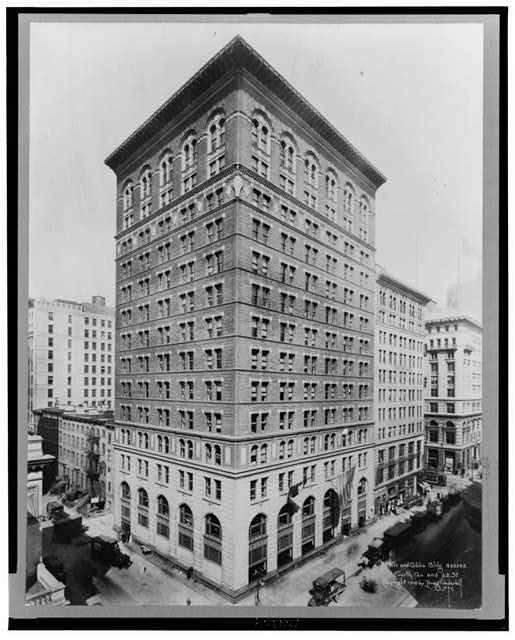 Mills & Gibbs Bldg., Fourth Av. and 22 St.