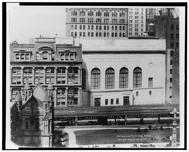 New York Curb Market Bldg.