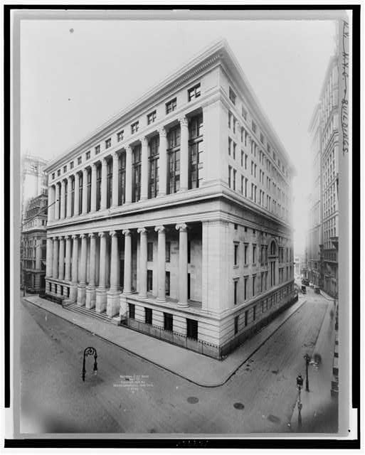National City Bank, Wall St.