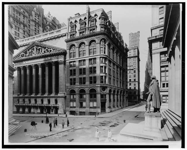 New York Stock Exchange and Wilks Bldg.