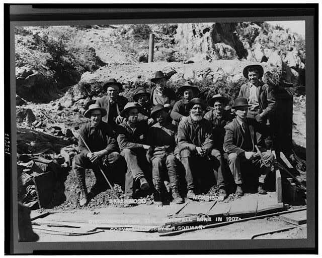 Greenwood, Geraty, Morrison--Discoverers of the Windfall Mine in 1907