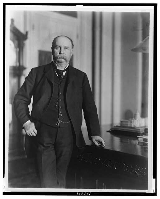 [Garrett A. Hobart, three-quarter length portrait, standing, facing front]