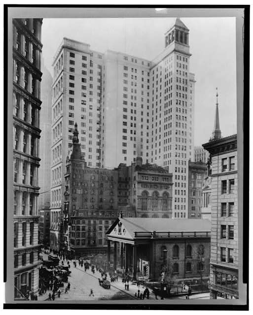 Telephone & Telegraph Bldg., B'way & Fulton St.