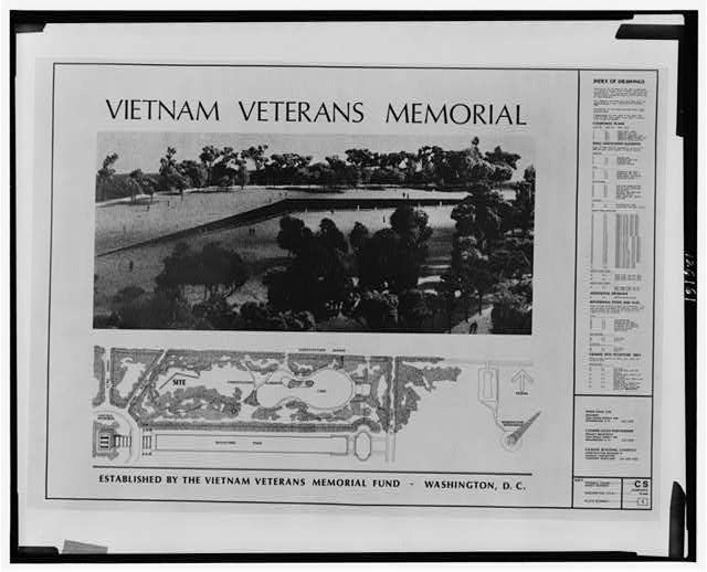 Vietnam Veterans Memorial, established by the Vietnam Veterans Memorial Fund, Washington, D.C.