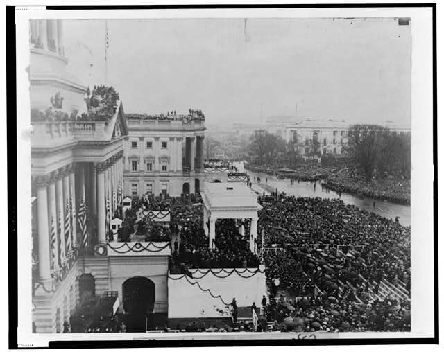 [President Hoover's inauguration, March 4, 1929]