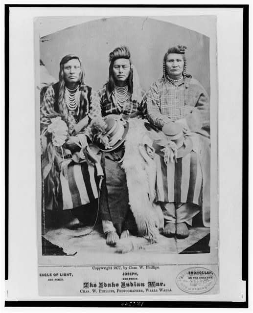 The Idaho Indian war