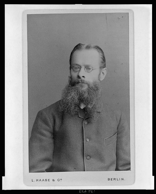 [Karl Bernhard Lehmann, German toxicologist, half-length portrait, facing front]
