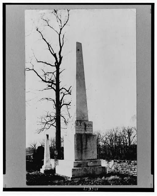 [James Madison Monument, Montpelier, Virginia]