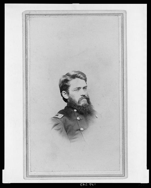[B. F. Sceva, Lt. Col., 10th N.Y. Cavalry Regiment, head-and-shoulders portrait, facing right]
