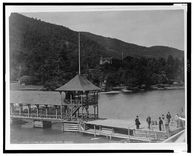 Silver Bay landing, Lake George