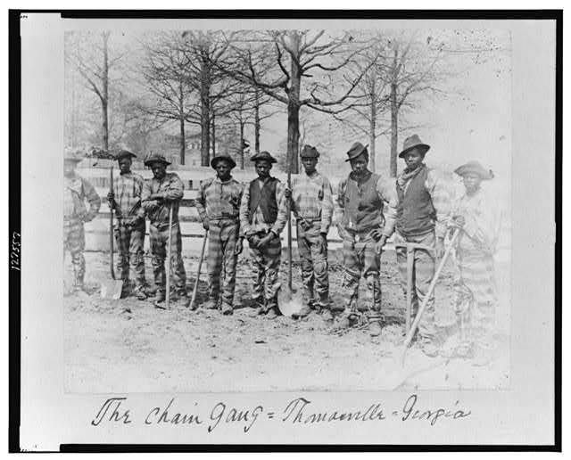 The chain gang, Thomasville, Georgia