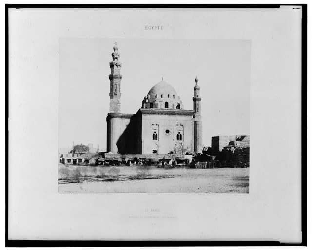 Le Kaire - mosque du Sultan Haan (le tombeau)