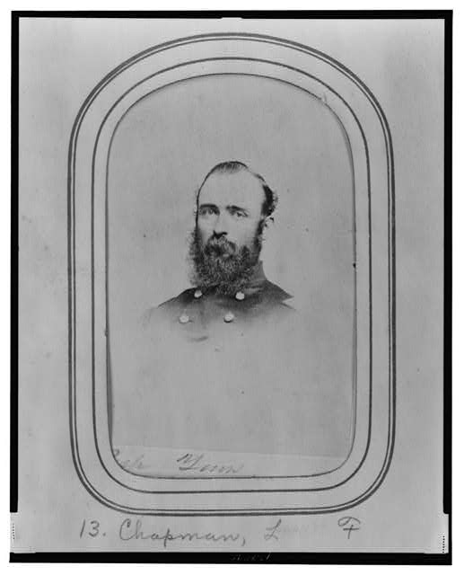 [Lansard F. Chapman, bust portrait, facing slightly left]