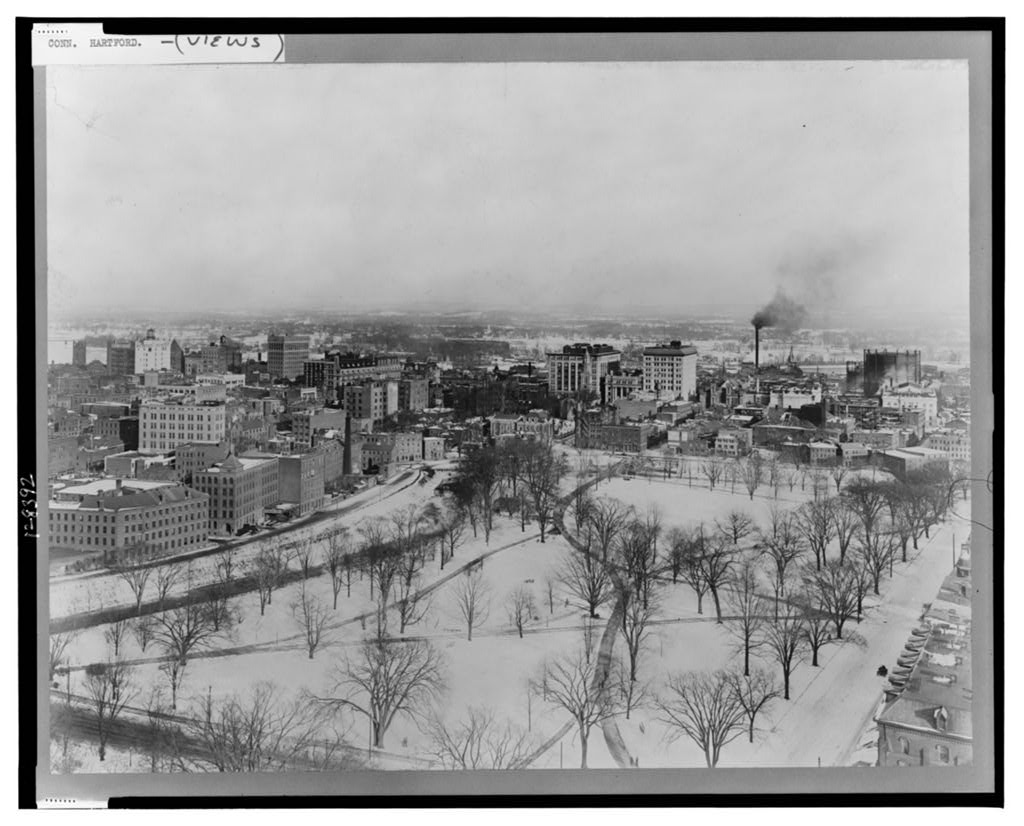 Bird's Eye View of Hartford, Conn.