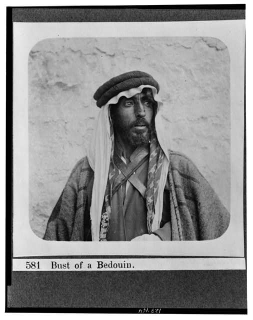 Bust of a Bedouin