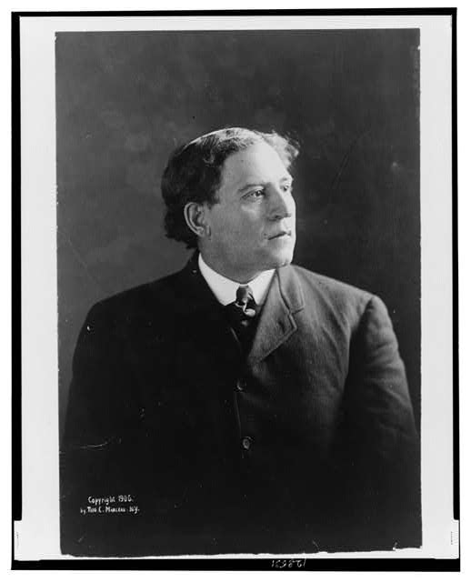 [A.A. Stagg, half-length portrait, facing right]