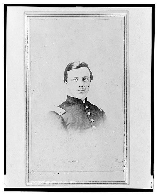 [Unidentified Union officer, bust portrait, facing front]
