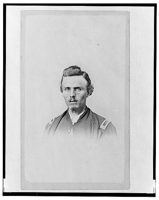 [Unidentified Union officer, full-length portrait, facing front]