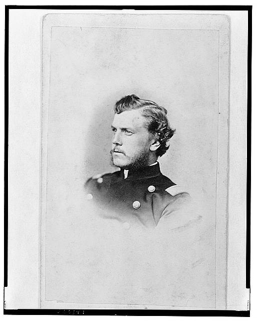 [Unidentified Union officer, bust portrait, facing left]