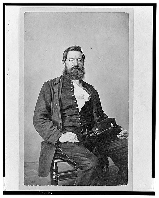 [Jean Allard Jeancon, Union officer, half-length portrait, seated, facing front]