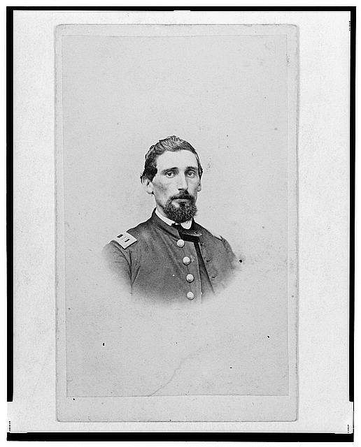 [Dr. John M. Gray, surgeon for the 39th Indiana Regiment,  head-and-shoulders portrait, facing front]
