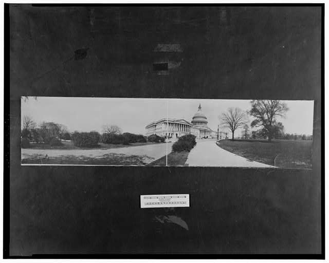 Capitol Bldg., west front #1, Washington, D.C.