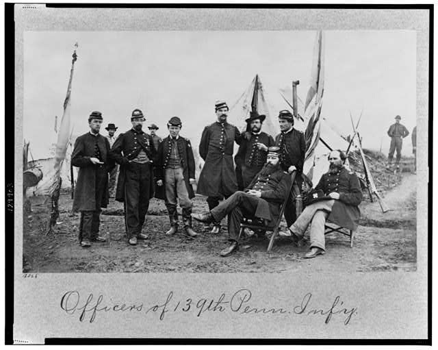 Officers of 139th Penn. Inf'y